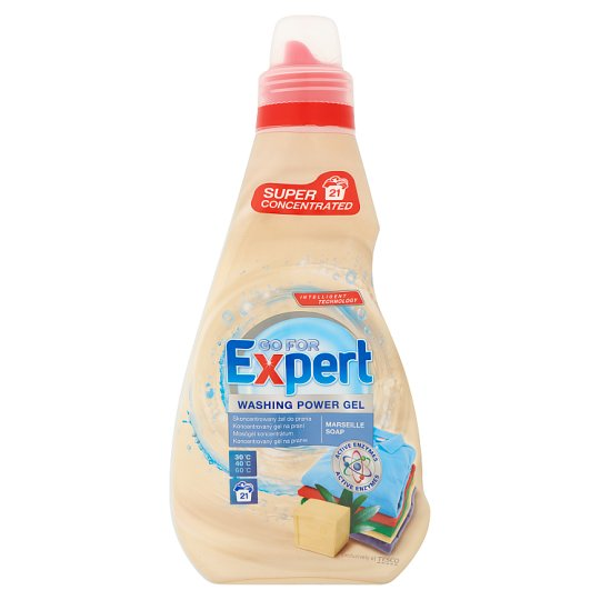 Go for Expert Marseille Soap Concentrated Washing Gel 750 ml (21 Washes)
