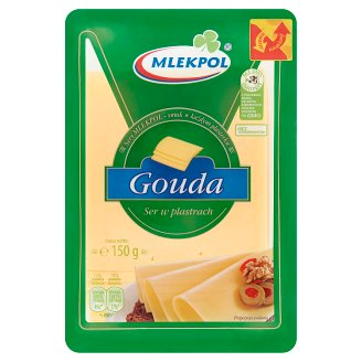 Mlekpol Sliced Gouda Cheese 150 g