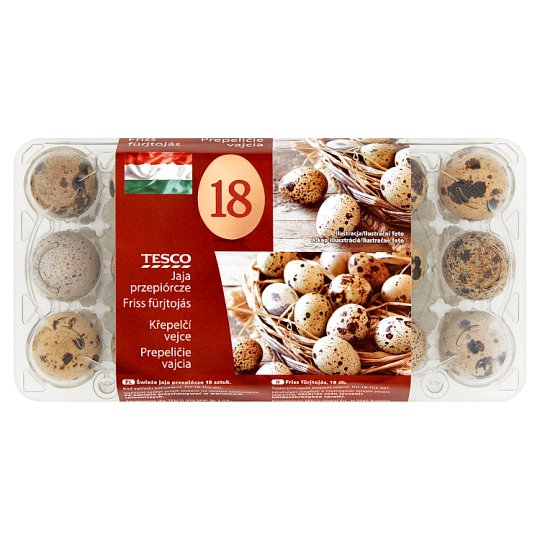 Tesco Quail Eggs 18 Pieces