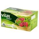 Vitax Family Herbata zielona z granatem 36 g (24 torebki)