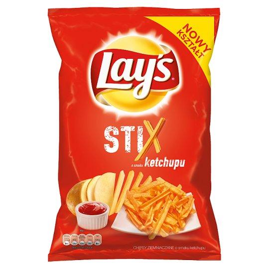 Lay's Stix o smaku ketchupu Chipsy ziemniaczane 140 g