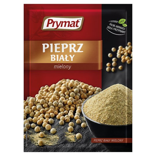 Prymat Ground White Pepper 15 g
