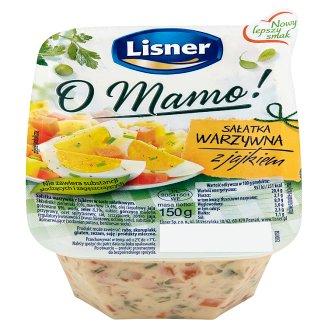 Lisner O Mamo! Vegetable Salad with Egg 150 g