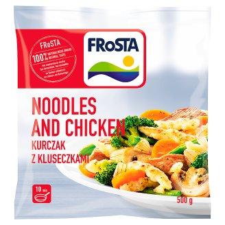 FRoSTA Noodles and Chicken Kluseczki z pszenicy durum 500 g