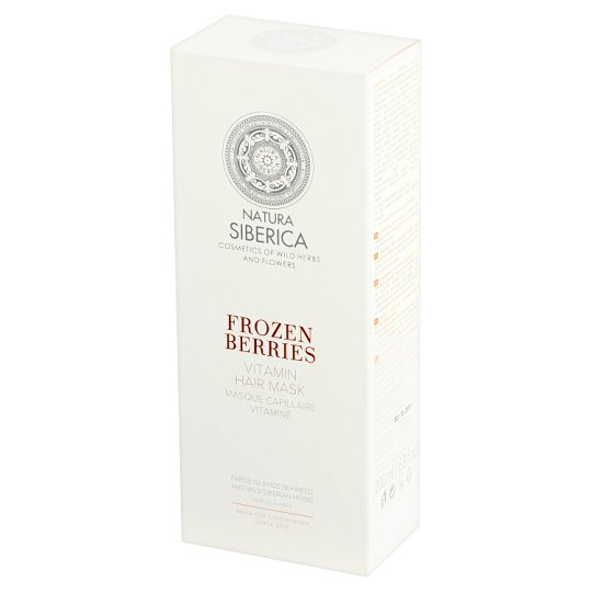 Natura Siberica Frozen Berries Vitamin Hair Mask 200 ml