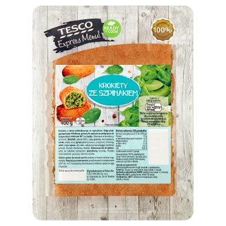 Tesco Express Menu! Croquettes with Spinach 400 g