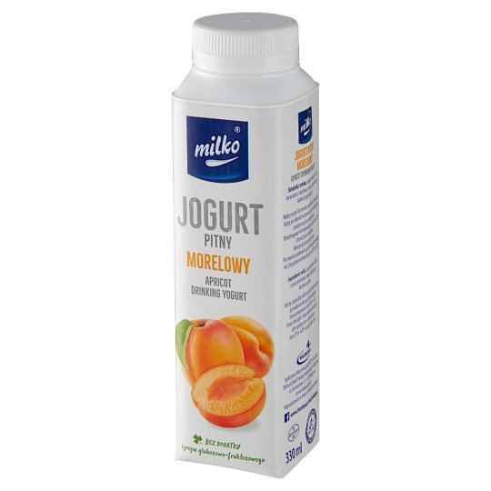 Milko Apricot Yogurt 330 ml