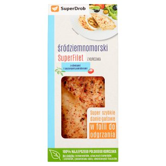 SuperDrob Mediterranean Chicken Superfillet with Olives and Dried Tomatoes 320 g