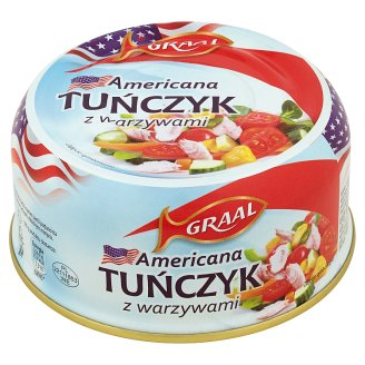 GRAAL Americana Tuna with Vegetables 280 g