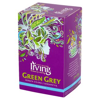 Irving Green Grey Green Tea with Bergamot 30 g (20 Tea Bags)