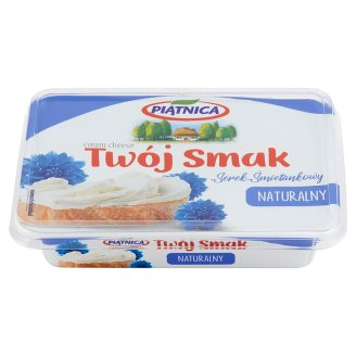 Piątnica Twój Smak Natural Cream Cheese 135 g