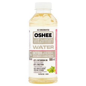 Oshee Vitamin Water Detox & Herbal Mint Flavoured Non-carbonated Drink 555 ml