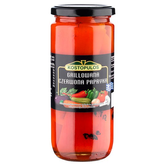 Kostopulos Grilled Red Paprika 480 g
