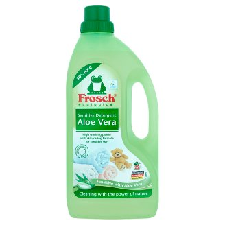Frosch Washing Gel for White Fabrics 1500 ml (22 Washes)