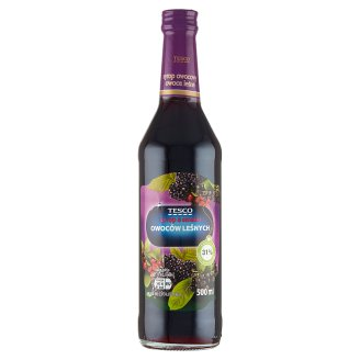 Tesco Forest Fruits Fruit Syrup 500 ml