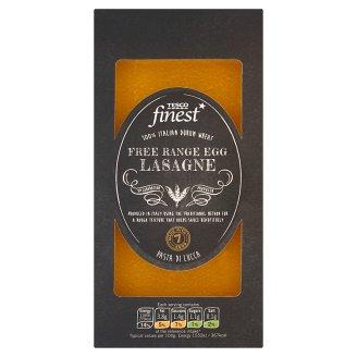 Tesco Finest Lasagne Makaron z semoliny pszenicy durum i jaj z chowu na wolnym wybiegu 250 g