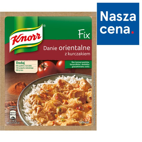 Knorr Fix Oriental Dish with Chicken 48 g