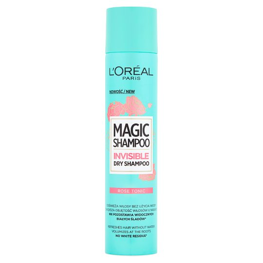 L'Oréal Paris Magic Shampoo Rose Tonic Dry Shampoo 200 ml
