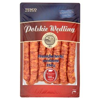 Tesco Polskie Wędliny Smoked Frankfurters 350 g