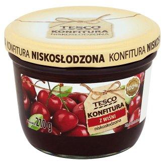 Tesco Konfitura z wiśni niskosłodzona 210 g