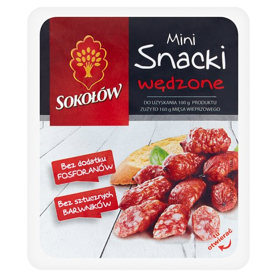 Sokołów Smoked Mini Snacks 100 g