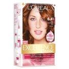 L'Oréal Paris Excellence Creme Farba do włosów 6.41 Jasny bursztynowy brąz
