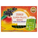 Tesco Super Fruits Mango & Blackcurrant Herbata biała 22,5 g (15 torebek)