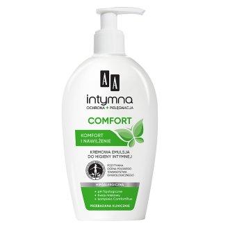 AA Intymna Comfort Kremowa emulsja do higieny intymnej 300 ml