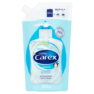 Carex Splash Antibacterial Hand Wash Refill 500 ml