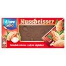 Alpen Gold Nussbeisser Gold Czekolada mleczna z całymi migdałami 100 g