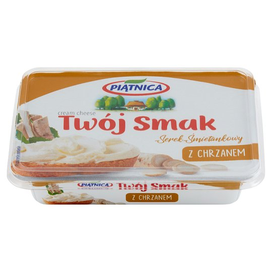 Piątnica Twój Smak Cream Cheese with Horseradish 135 g