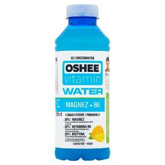 Oshee Vitamin Water Magnesium + B6 Lemon and Orange Flavoured Drink 555 ml