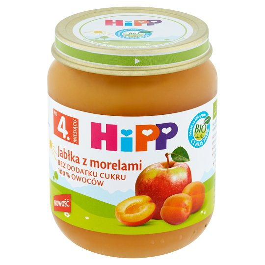 HiPP BIO Apple with Apricot after 4 Months Onwards 125 g