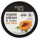 Organic Shop Soczysta papaja Peeling do ciała 250 ml