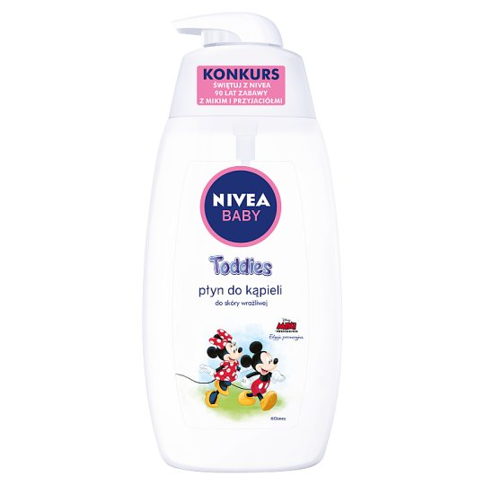 NIVEA Baby Toddies Płyn do kąpieli 500 ml