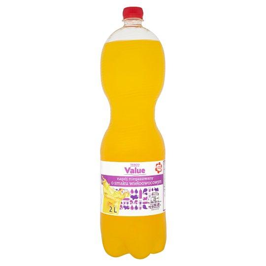 Tesco Value Multifruit Flavour Drink 2 L