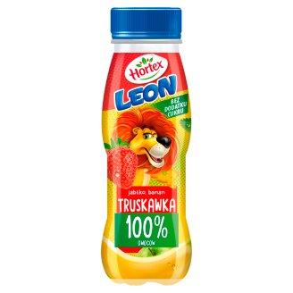 Hortex Leon Apple Banana Strawberry Juice 300 ml