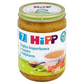HiPP BIO Dill Soup with Rice and Turkey after 7. Months Onwards 190 g