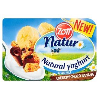 Zott Natur Crunchy Choco Banana Natural Yoghurt & Musli 115 g