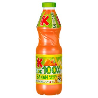 Kubuś Sok 100% banan marchew jabłko 900 ml
