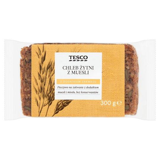 Tesco Rye Bread with Muesli 300 g