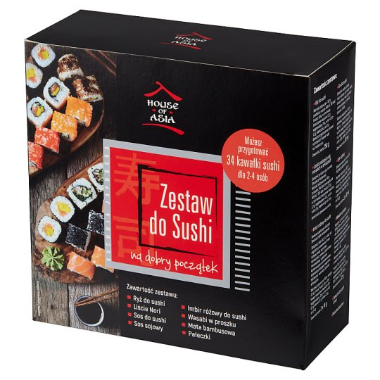 House of Asia Sushi Party Box