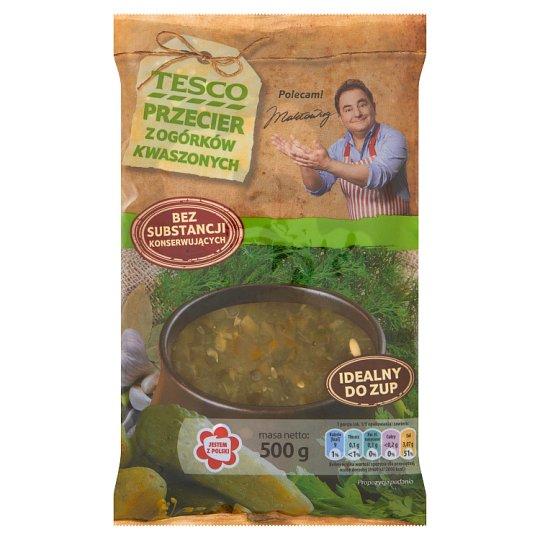 Tesco Pickled Cucumber Puree 500 g