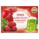 Tesco Super Fruits Pomegranate & Lychee Herbata biała 22,5 g (15 torebek)