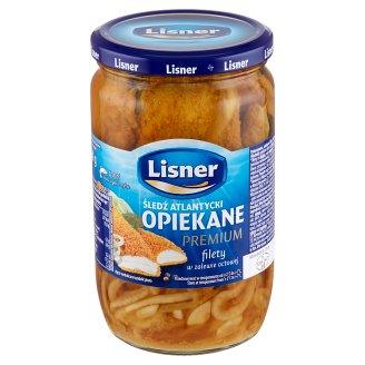 Lisner Opiekane filety śledziowe Premium w zalewie octowej 700 g