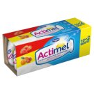 Danone Actimel 3 Flavours Mix Classic Strawberry Multifruit Fermented Milk 1.2 kg (12 Pieces)