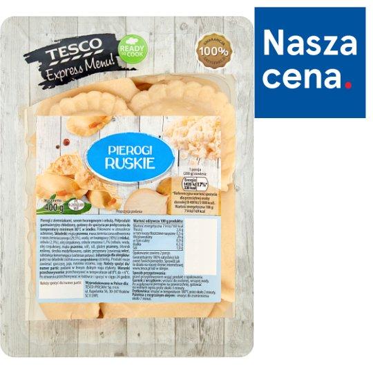 Tesco Express Menu! Russian Style Dumplings 400 g