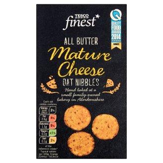 Tesco Finest All Butter Mature Cheese Oat Nibbles 125 g