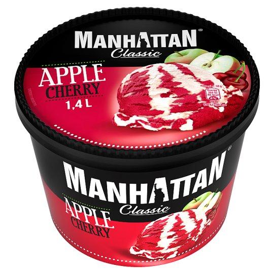 Manhattan Classic Lody jabłkowe i sorbet wiśniowy 1400 ml
