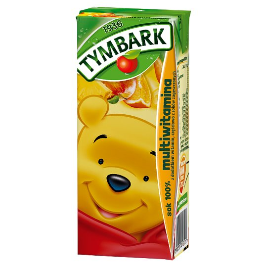 Tymbark Multivitamin 100% Juice 200 ml